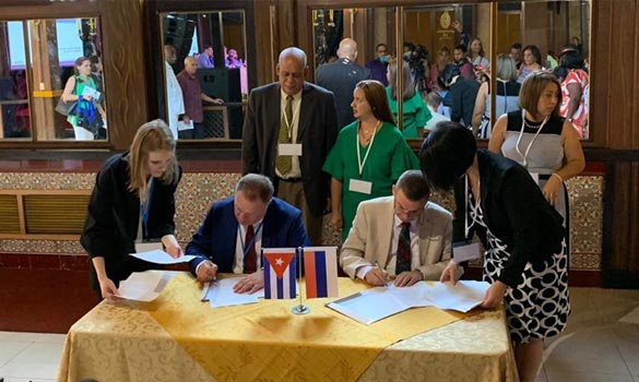 The Russian GMP inspectorate signed an Agreement on Cooperation with the Cuban CECMED